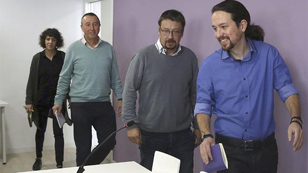 Las servidumbres de Podemos con sus socios territoriales