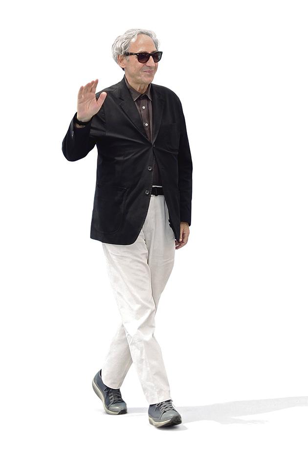 Franco Battiato. Todos quieren verlo danzar