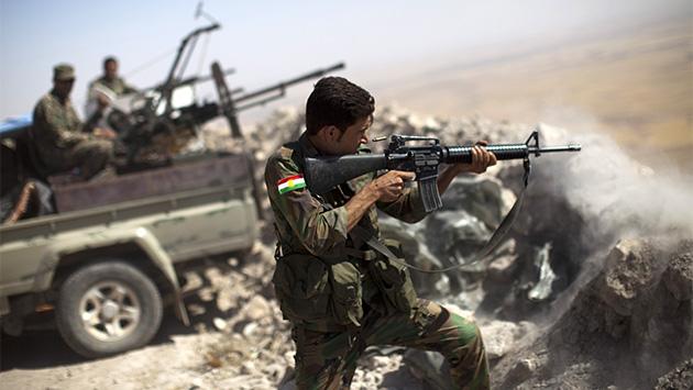 Los peshmerga aprovechan el caos