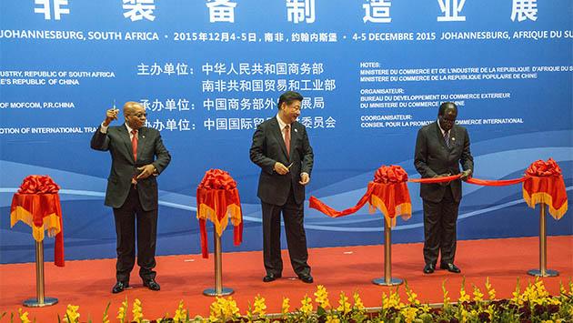 China blanquea su política africana