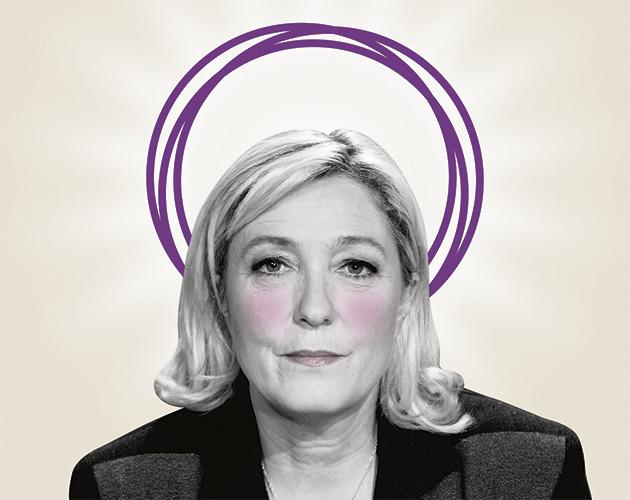Lo que Marine Le Pen busca en Podemos