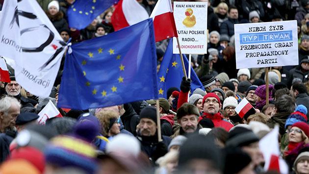 Polonia: gobierno y libertad de expresión