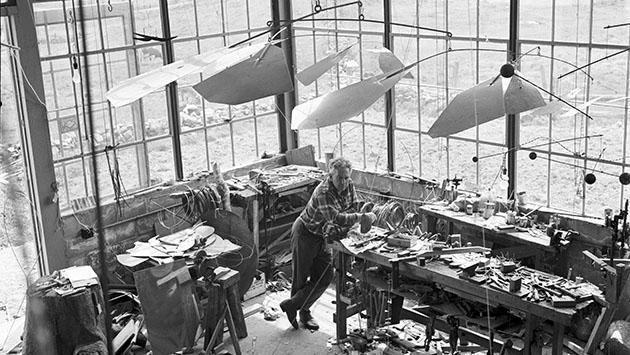 Alexander Calder. El escultor que dibujaba en el aire