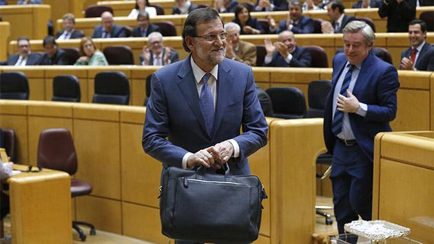 Rajoy amenaza con utilizar el Senado para bloquear leyes