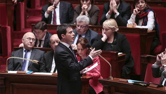 Francia, de la unión a la división partidista