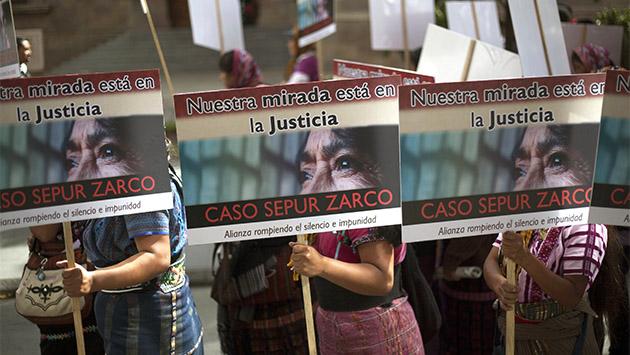 Justicia para las esclavas sexuales en Guatemala, 34 años después