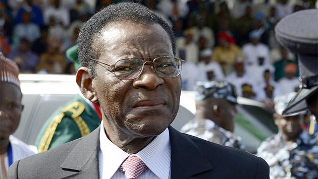 """Obiang, """"hasta que dios quiera"""""""