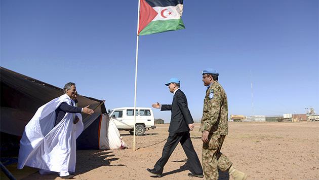 España habla bajito sobre el Sáhara