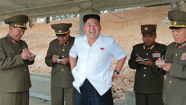 Las crónicas de Corea del Norte. Los Kim y la risa