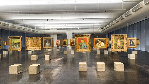 Mirar el arte. Una breve historia del museo moderno