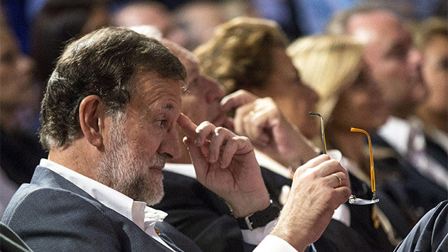 Rajoy, un líder en declive