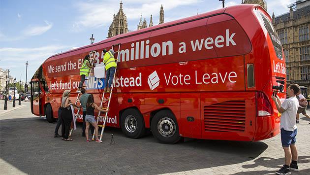 Londres contra la muchedumbre del Brexit