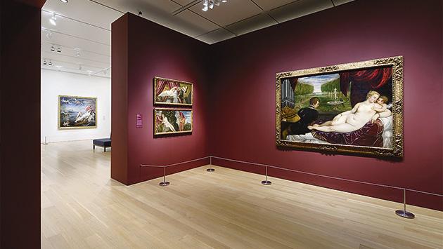 El Prado al desnudo en Nueva Inglaterra