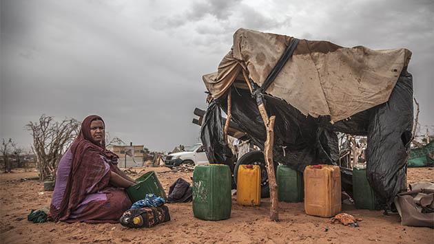 Encontrar agua, único objetivo en el Sahel