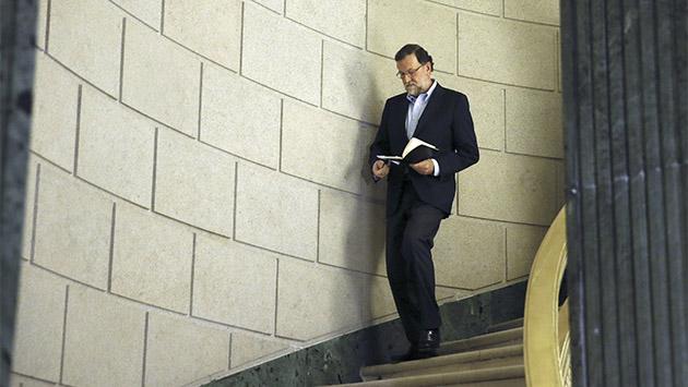 Rajoy prueba la derrota