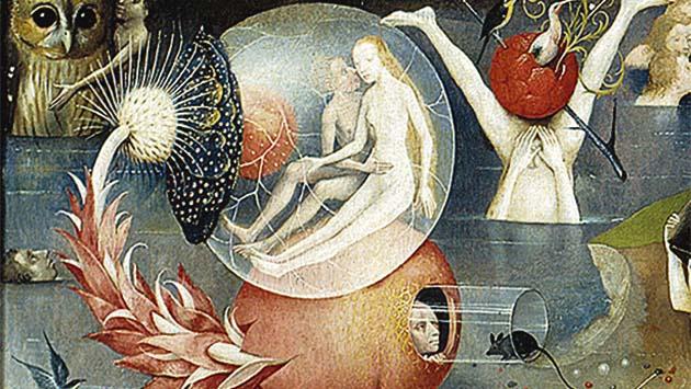 Las esferas del bosco espacios zero for El jardin de las delicias significado