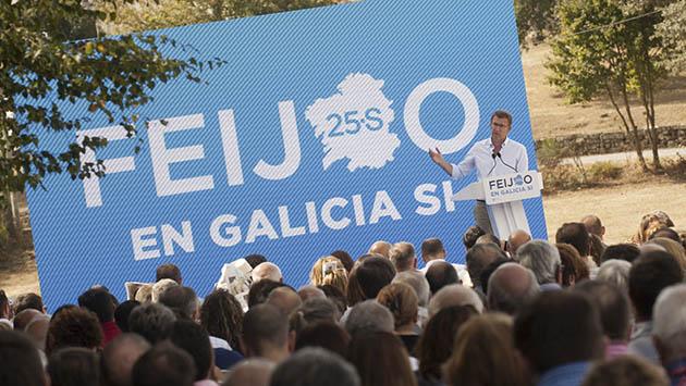 Rajoy confía en que Feijóo repita mayoría absoluta