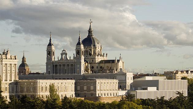Museo de las Colecciones Reales. En el justo medio está la virtud