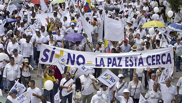 El sí, el no y la duda en Colombia