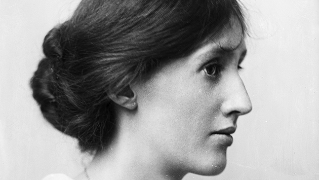 Virginia Woolf a tamaño natural