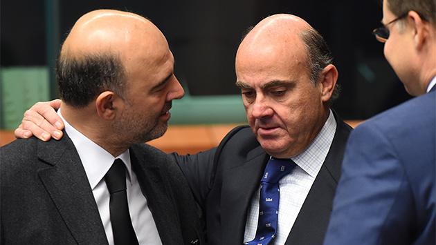 Moscovici, De Guindos y el paro estructural