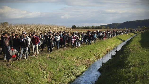 Schengen, a prueba por la crisis de refugiados