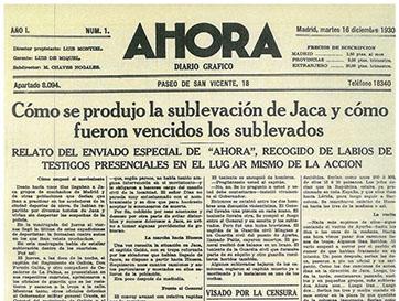 Genealogía periodística de AHORA